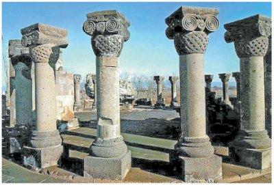 Звартноц - храм